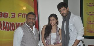 Anubhav Sinha, Karanvir Sharma and Mannara promote Zid at Radio Mirchi