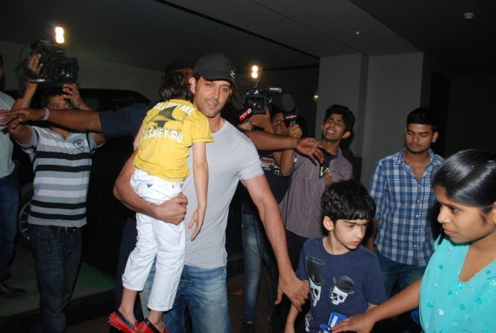 hrithik and kids