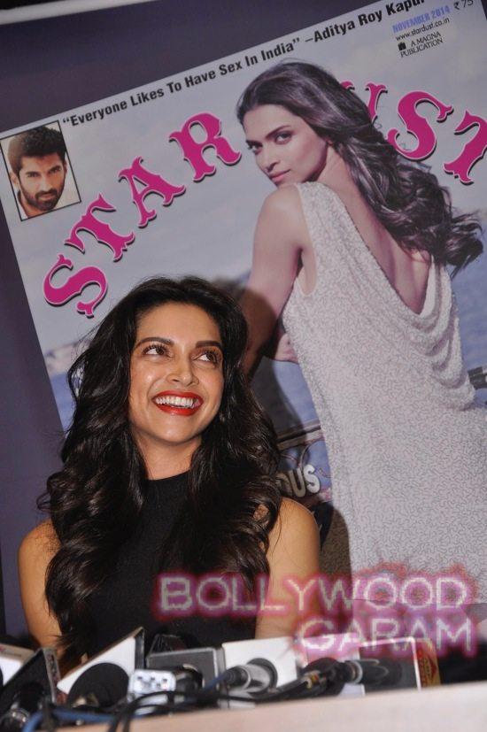 latest issue of Stardust magazine Deepika-5