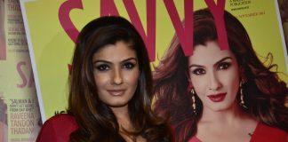 Raveena Tandon unveils Savvy magazine cover
