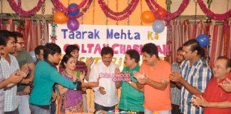 TV stars celebrate completion of 8 years of Taarak Mehta ka Ultah Chashma – Photos
