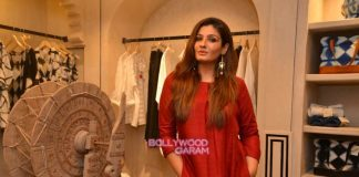 Raveena Tandon, Dia Mirza and Diana Penty at Anita Dongre's new line preview – Photos