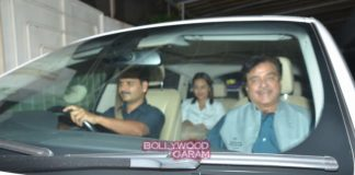 Sonakshi Sinha, Akshay Kumar and Prabhu Deva at Brothers screening