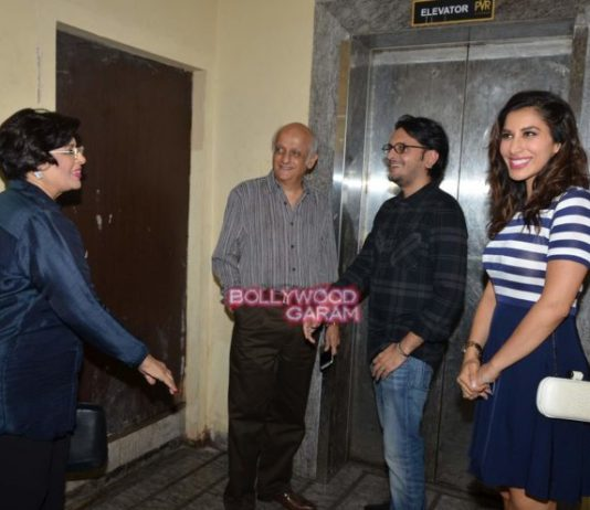 Sophie Choudry, Sonu Nigam and Mukesh Bhatt in casual mood at PVR