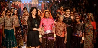 Lakme Fashion Week Winter/Festive 2015 Photos – Dia Mirza walks the ramp for Anita Dongre