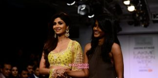 Lakme Fashion Week Winter/Festive 2015 Photos –  Shilpa Shetty turns show stopper for Divya Reddy