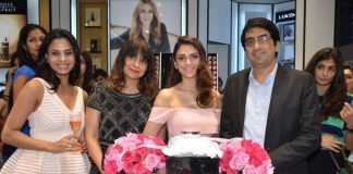 Aditi Rao Hydari in pretty pink at Lancome Store launch – Photos