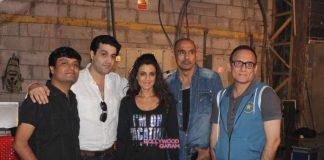 Ameesha Patel shoots for Desi Magic