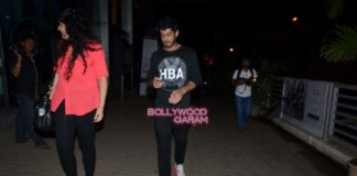 Arjun Kapoor and Mohit Marwah hangout at PVR