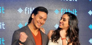 Tiger Shroff and Shraddha Kapoor promote fitness for Fitbit – Photos