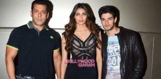 Salman Khan, Athiya Shetty and Sooraj Pancholi promote Hero on Jhalak Reloaded