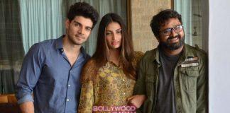 Athiya Shetty and Sooraj Pancholi pose for Hero promotions