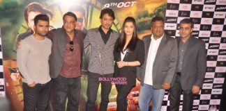 Aishwarya Rai and Irrfan Khan launch trailer of Jazbaa – Photos