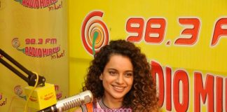 Kangana Ranaut and Imran Khan have fun at Katti Batti promotions at Radio Mirchi