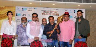 Gulshan Grover, Kunal Kapoor and Saurabh Shukla at Kaun Kitney Paani Mein Delhi promotions