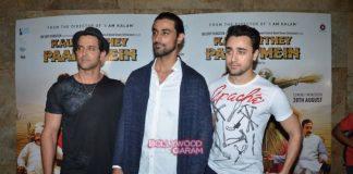 Hrithik Roshan and Imran Khan support Kunal at Kaun Kitney Paani Mein screening – Photos