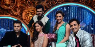 Katrina Kaif and Saif Ali Khan have fun promoting Phantom on Jhalak sets