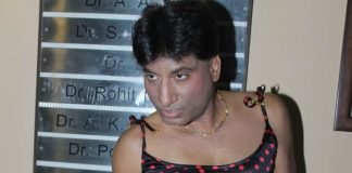 Raju Shrivastava shows funny side at Sakinaka shoot location