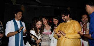 Manoj Bajpaye, Ayushmann Khurrana and celebs wish Smita Thackeray on birthday – Photos