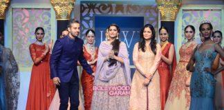 Sonam Kapoor stuns on the ramp at finale of IIJW – Photos