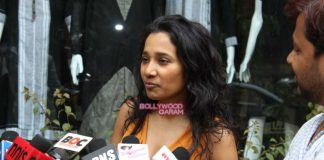 Tannishtha Chatterjee visits Anita Dongre's  store