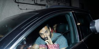 Anil Kapoor and John Abraham at Welcome Back special screening