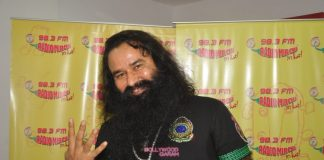 Gurmeet Ram Rahim Singh geared up with MSG 2 promotions at Radio Mirchi