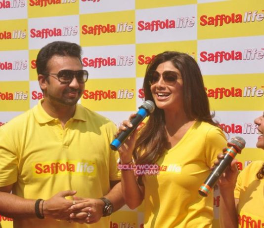Shilpa Shetty and Raj Kundra walk for SafolaLife World Heart Day – Photos