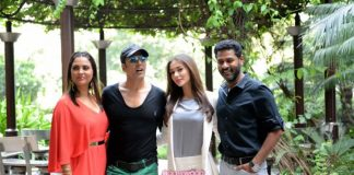 Akshay Kumar and Amy Jackson at Singh is Bling press event in Delhi – Photos