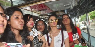 Alia Bhatt enjoys open air bus ride with Garnier contest winners – Photos