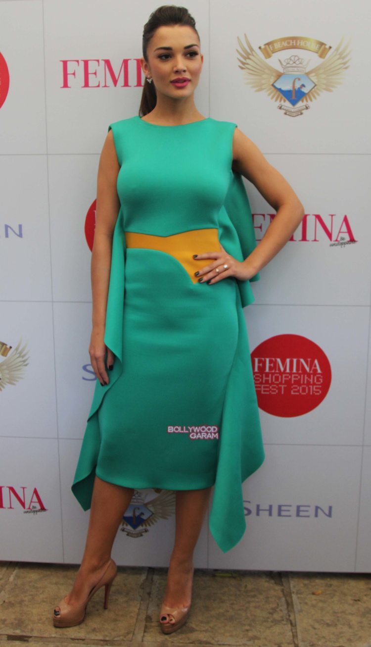 amy jackson shopping fest13