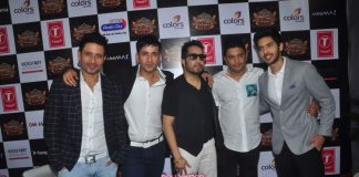 Ayushmann Khurrana and Sonu Nigam at Suron Ke Rang Colors Ke Sang – Salaam Shri Gulshan Kumar press event