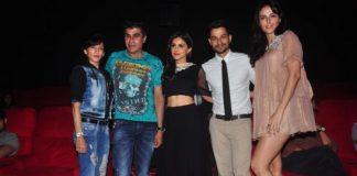 Kunal Khemu, Mandana Karimi and Manasi Scott at Bhaag Johnny premiere
