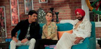 Amy Jackson, Akshay Kumar  and Prabhu Deva have fun on sets of Comedy Nights With Kapil