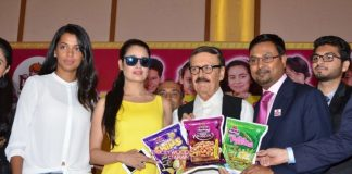 Mugdha Godse, Yuvika Chaudhary and Parikshit Sahani launch Harley Food Products