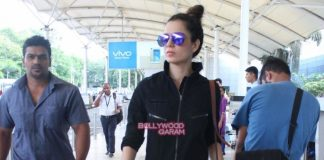 Imran Khan and Kangana Ranaut leave for Katti Batti promotions in Chandigarh
