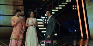 Farah Khan, Anu Malik and Mini Mathur at Indian Idol Reunion episode