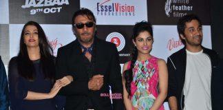 Aishwarya Rai and Jackie Shroff have fun at Jazbaa music launch – Photos
