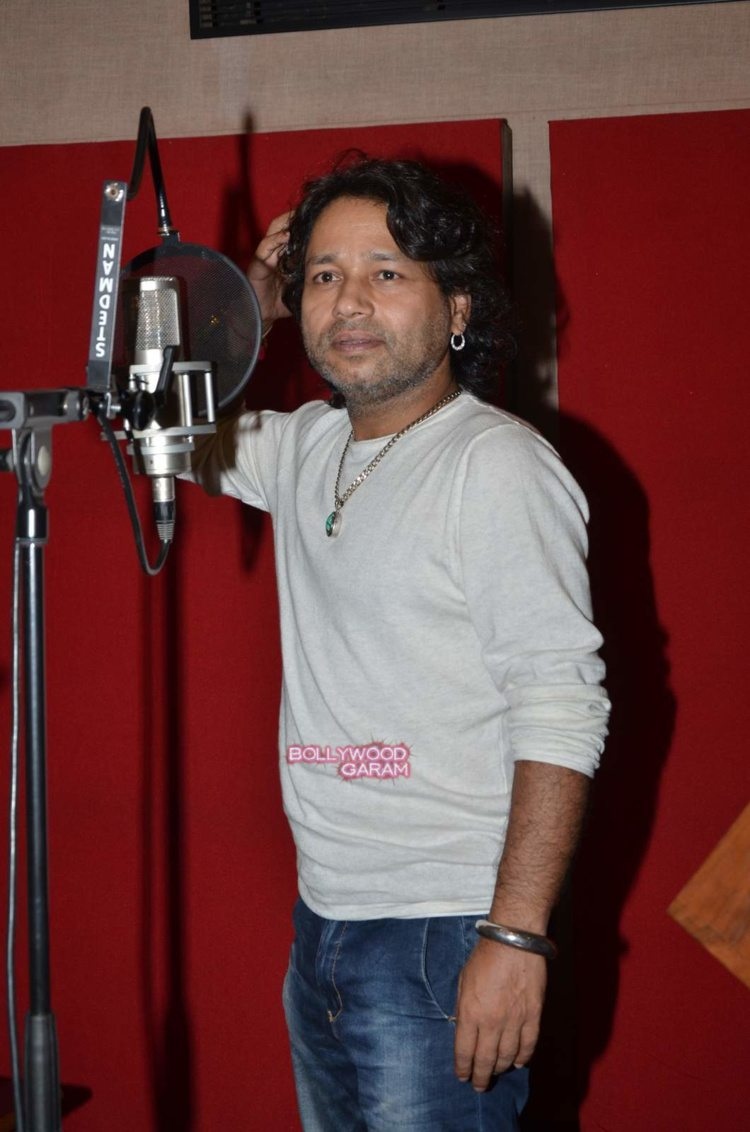 kailash kher recording2
