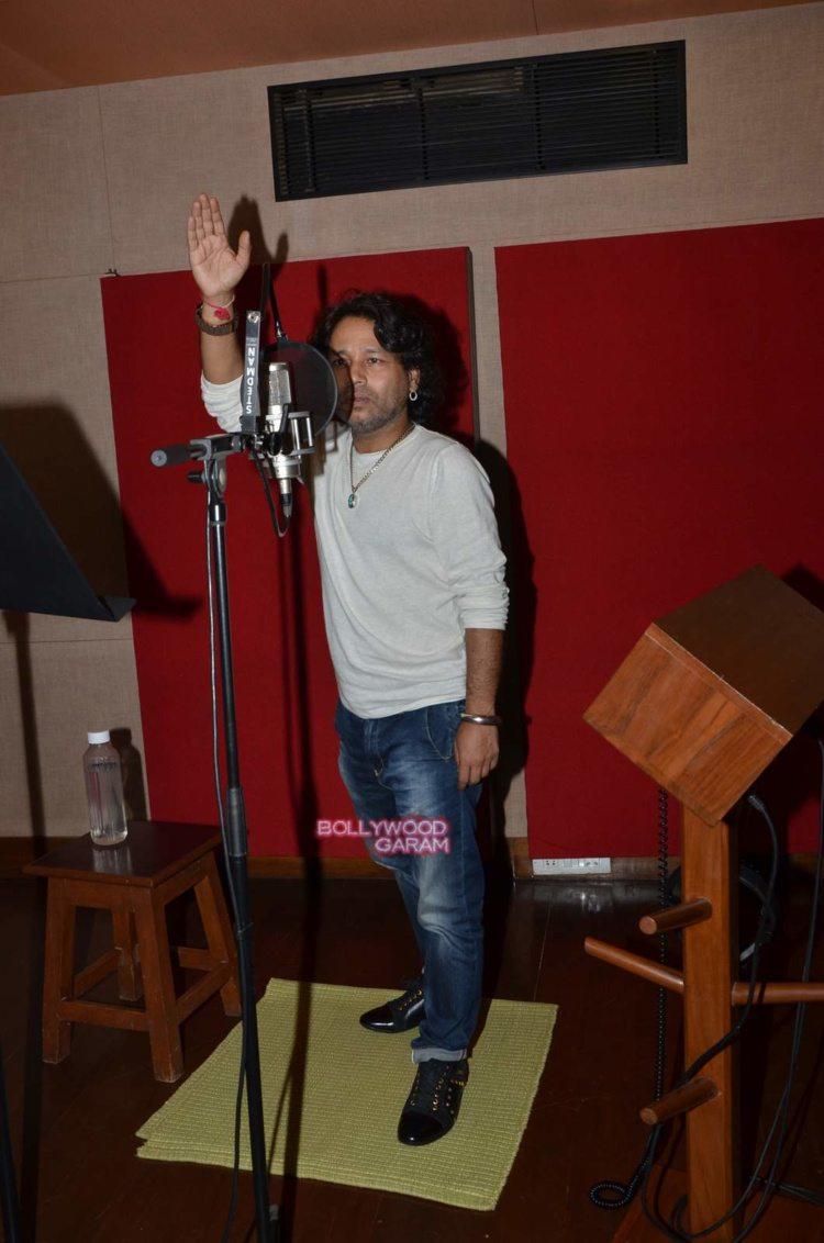 kailash kher recording6