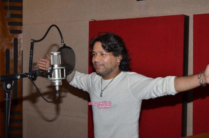 kailash kher recording7