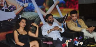 Kangana Ranaut and Imran Khan promote Katti Batti at  Mehboob Studios – Photos