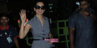 Kangana Ranaut returns to Mumbai after Paris premiere of Queen