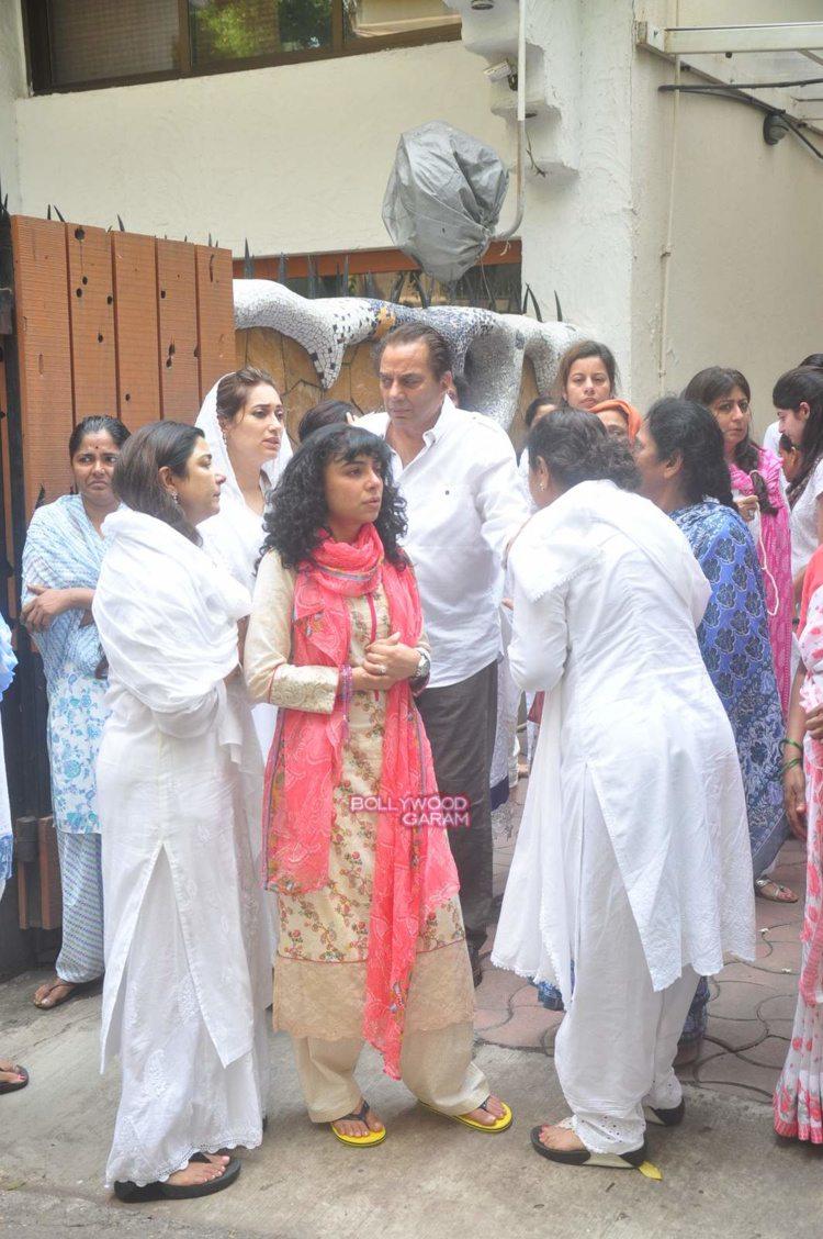 karim morani mother funeral2