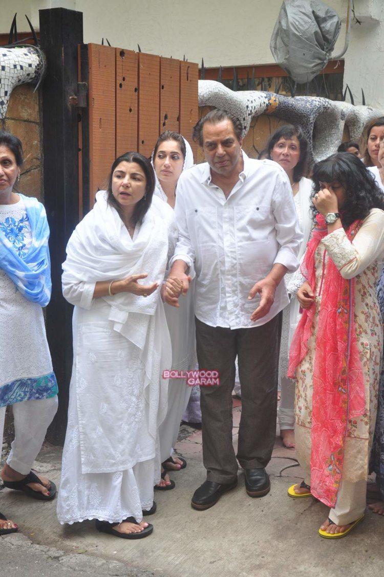 karim morani mother funeral3