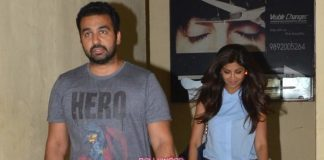 Shilpa Shetty and Raj Kundra on an intimate movie date at PVR