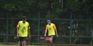 Ranbir Kapoor catches friendly soccer match with friends
