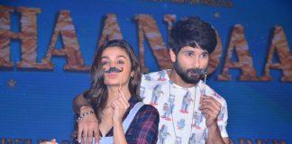 Shahid Kapoor and Alia Bhatt launch Shaandaar trailer – Photos
