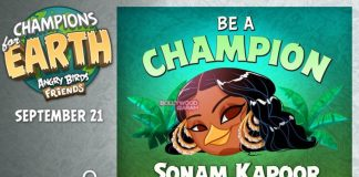 Sonam Kapoor turns Angry Birds Champion