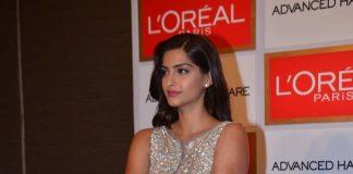 Sonam Kapoor stuns in silver at Loreal Paris press event – Photos